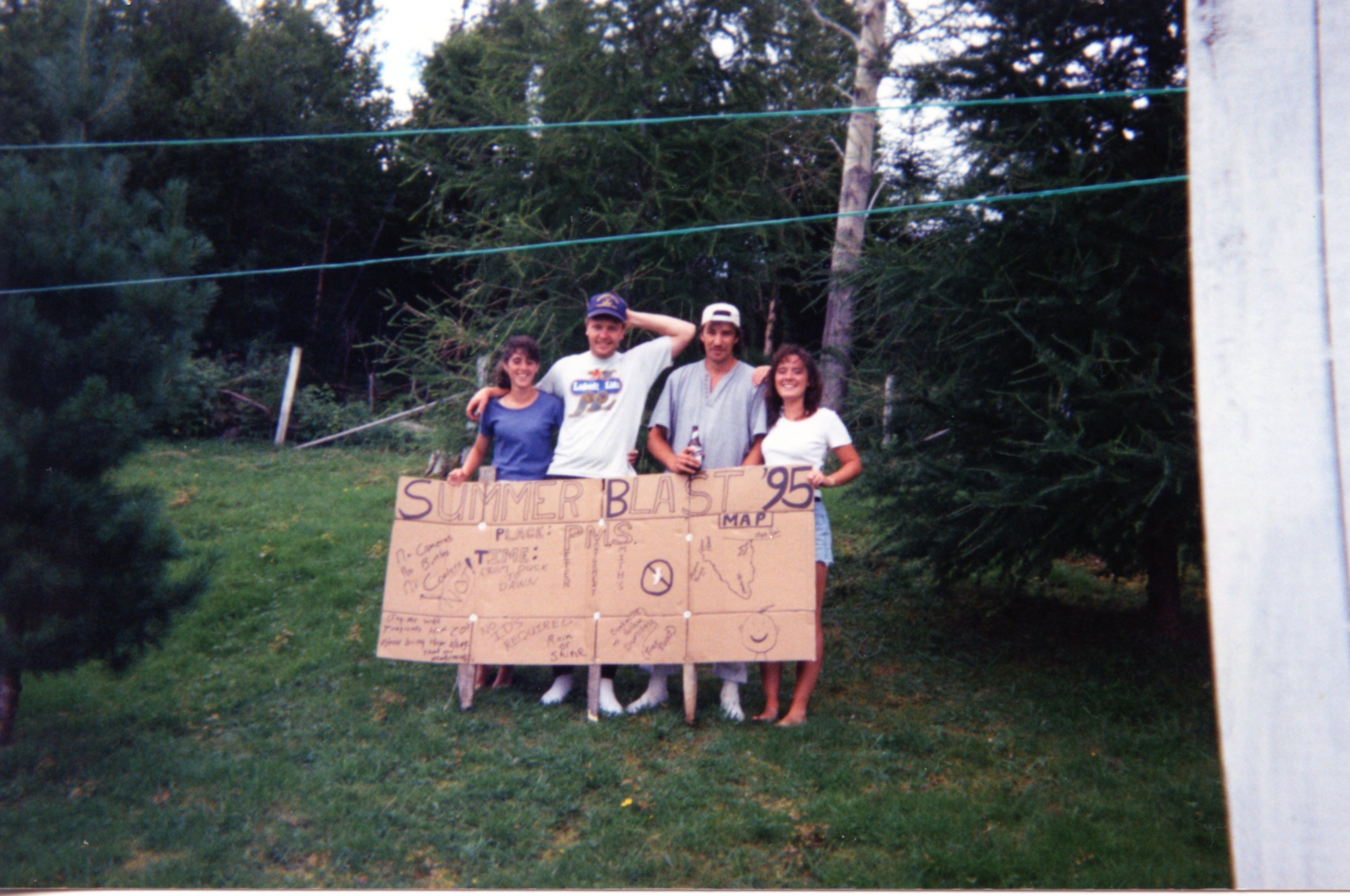 SummerBlast 95 Sign